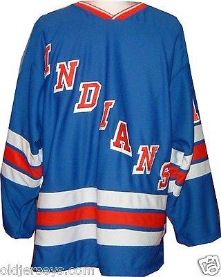 Springfield Indians (New York) AHL Replica Hockey Jersey