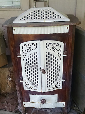 Antique S DeMoulin Belgian cast iron parlor stove
