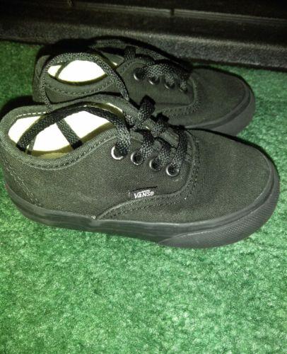 Vans Toddler Shoes Size 6
