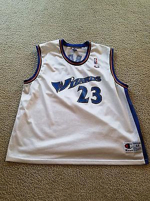 Washington Wizards Michael Jordan #23 Champion NBA Basketball Jersey - Size 44