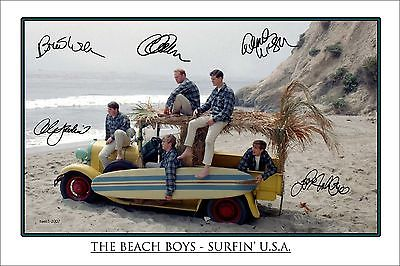 4x6 SIGNED AUTOGRAPH PHOTO PRINT OF THE BEACH BOYS #26