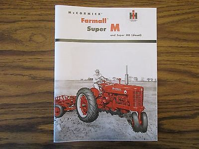Farmall Super M & Super MD Tractor Sales Catalog