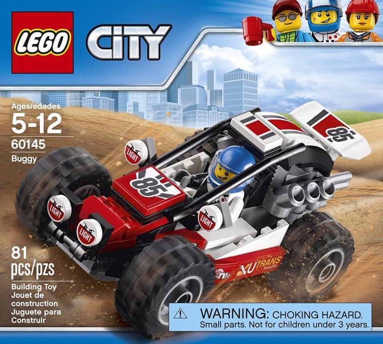 LEGO City Buggy 60145 MISB Brand New 81 Pcs