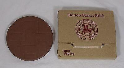 Longaberger Button Basket Brick - Perfect