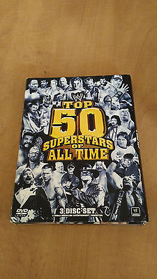 WWE: The Top 50 Superstars of All Time (DVD, 2010, 3-Disc Set) wwf