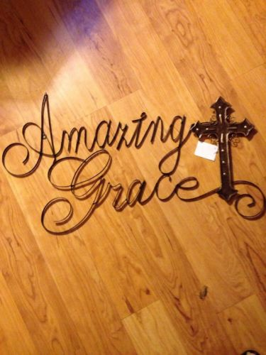 Amazing Grace Wall Writing