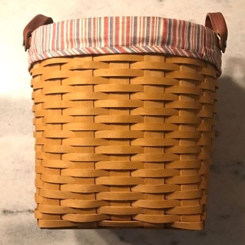 Longaberger Small Oval Waste Basket