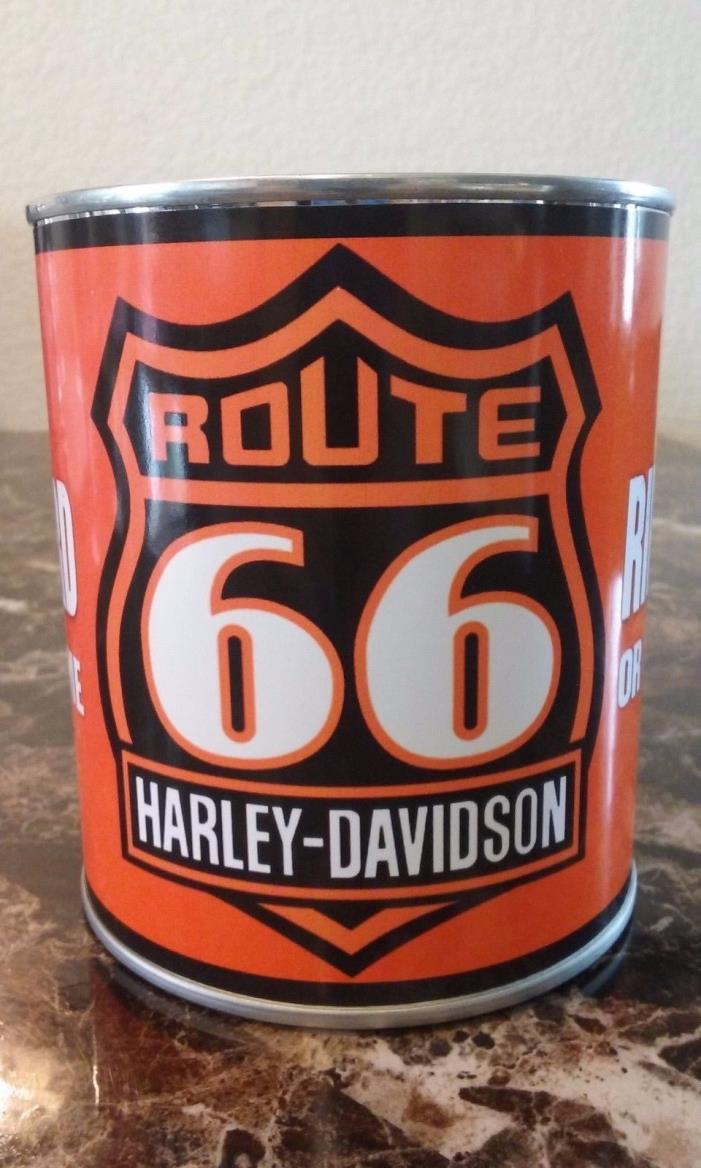 Harley Davidson Route 66 Oil Can 1 qt. - Reproduction oil can - RIDE HARD !