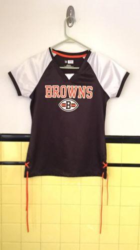 Cleveland Browns Women's Small Jersey Shirt NFL