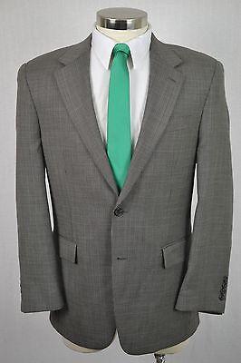 (40R) Chaps Ralph Lauren Men's Brown 100% Wool Classic Blazer Sport Coat Jacket