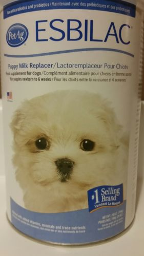 Esbilac Milk Replacer for Puppies, 28 oz powder