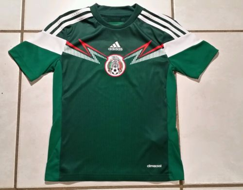 ADIDAS Mexico National Team 2014 Soccer Jersey Youth Small
