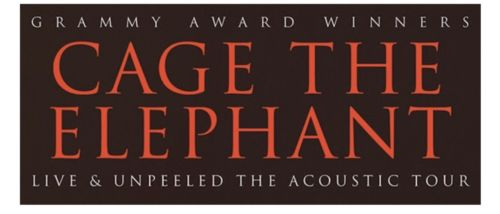 Cage The Elephant orchestra pit ticket Escondido section C