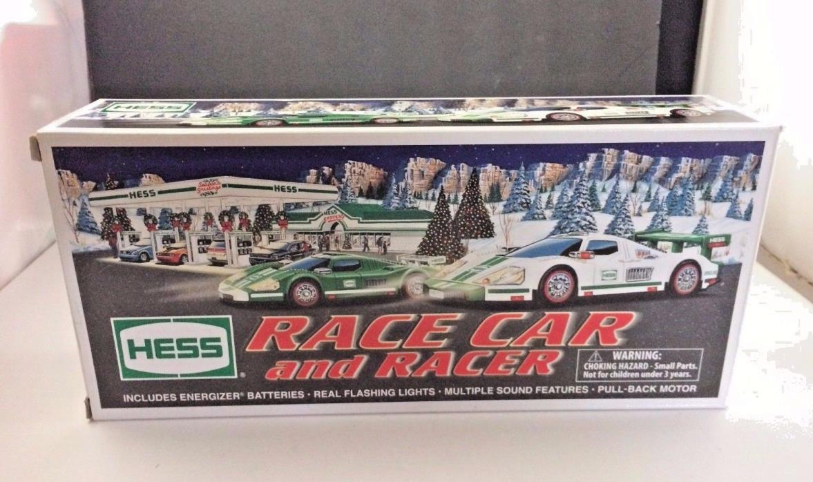 HESS TRUCK Collectible Lot  2009 Hess Race Car and Racer MINT IN box wpaperwork
