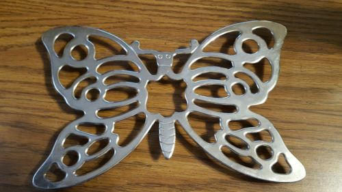 Leonard Silver Plated Trivet / Wall Hanging.