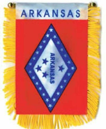 arkanas state flag mini banner new 4x6