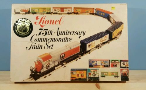 lionel 75th anniversary train set
