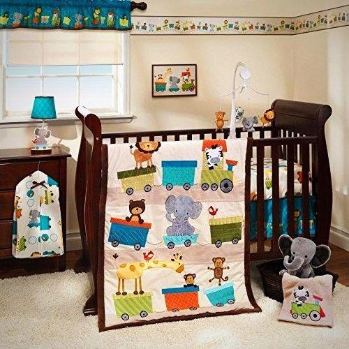 Crib Bedding Set Newborn Infant Bedroom Comforter Sheet Quilt Dust Ruffle New