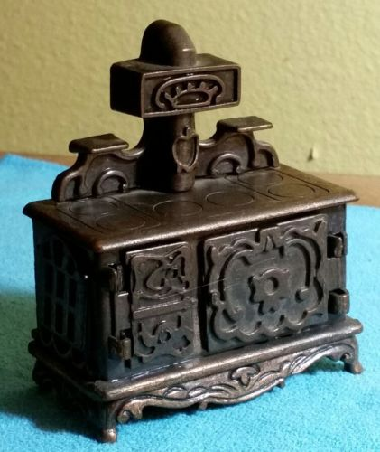 Vintage American Greetings Durham Industries ~ WOOD BURNING COOK STOVE #24