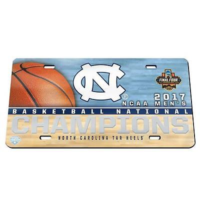 2017 North Carolina Championship License Plate