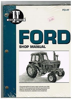 FORD SHOP MANUAL FOR TRACTOR SERIES 5000, 5600, 5610, 6600, 6700, 6710, 7000 ECT