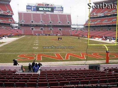 4 Cleveland Browns Season Tickets 2017 Section 146 row 25