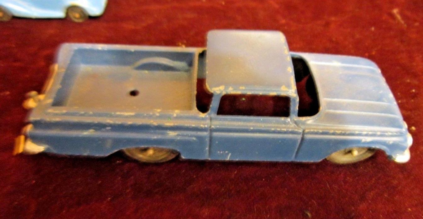 Vintage Tootsie Toy Diecast Blue Chevrolet El Comino
