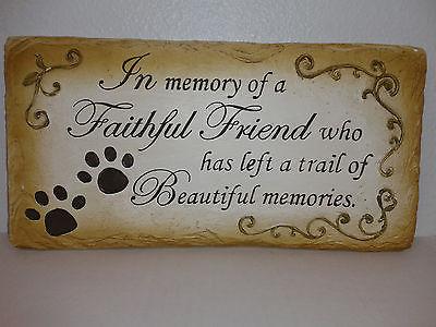 Pet Memorial marker, 28216B