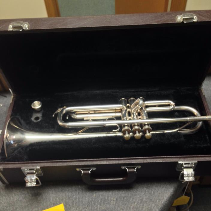 MIJ Yamaha YTR-232S  Silver Trumpet ready to play