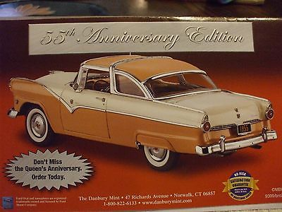 DANBURY MINT BROCHURE ONLY 1955 FORD FAIRLANE CROWN VICTORIA  EC FREE SHIPPING