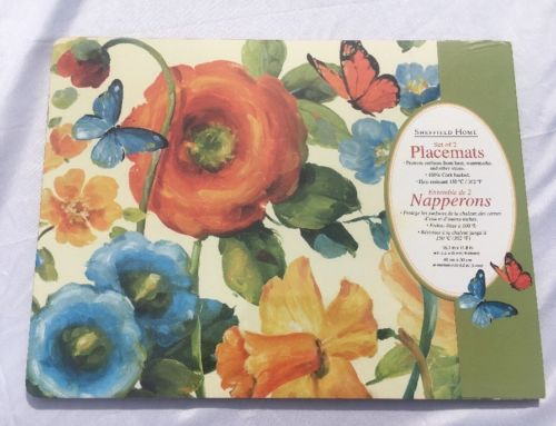 Set Of 4 Cork Placemats Sheffield Home New