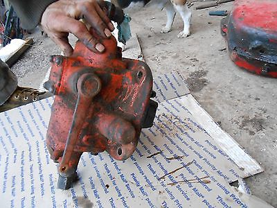 case SC tractor  Hydraulic pump  antique tractor 1950