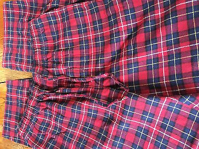 Men's size small pj pants multi color good condition all elastic waist