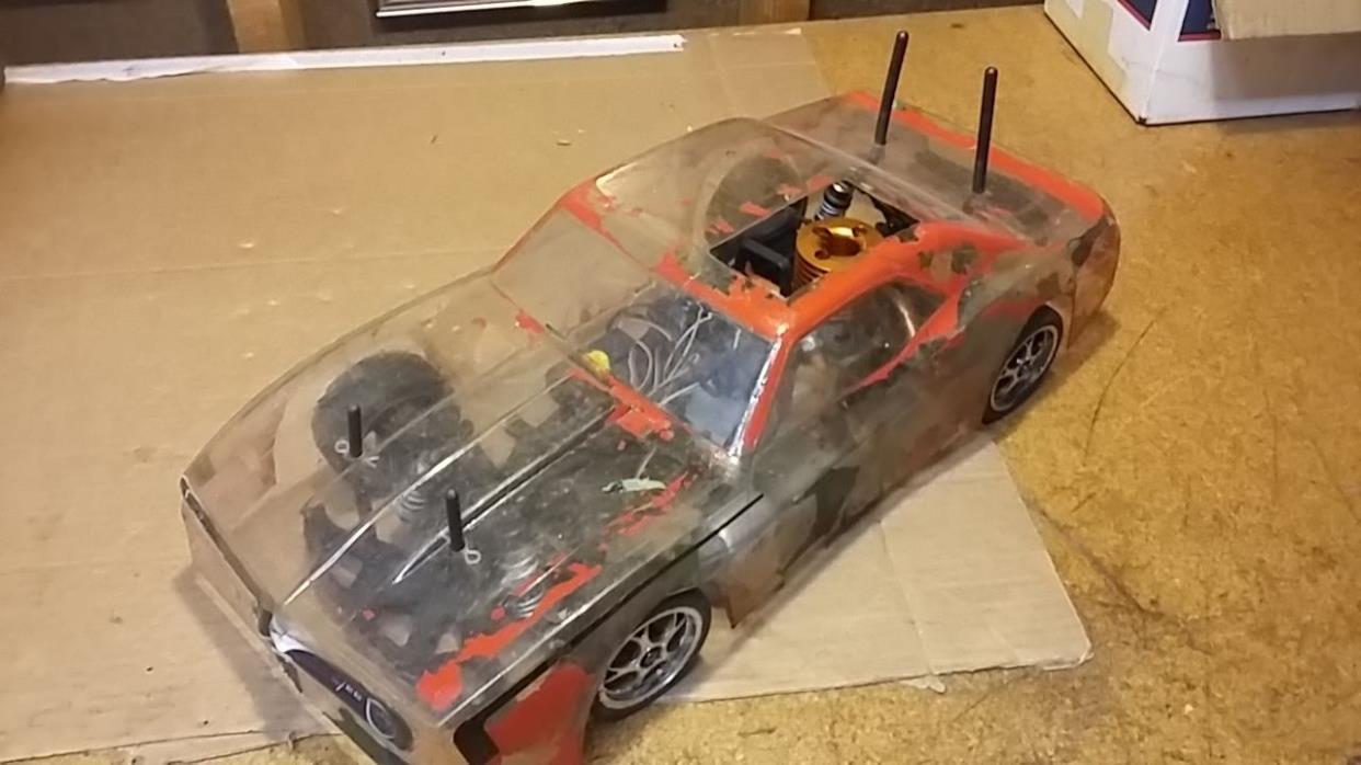 NITRO HPI RC Car