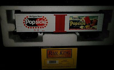 MTH RAIL KING Popsicle Modern Reefer Car 30-78011 Very Rare !