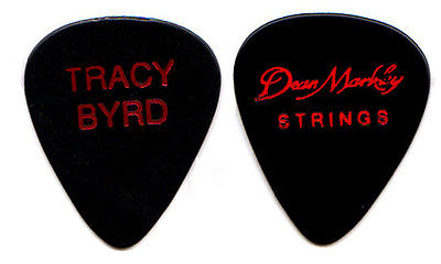 TRACY BYRD Guitar Pick ! tour country music concert Dean Markley Strings