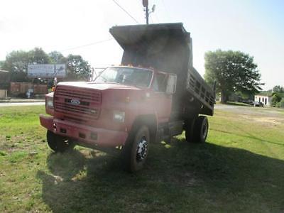 1988 Ford F800 Dump Trucks