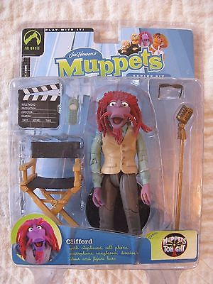 JIM HENSON'S MUPPETS Clifford action figure VARIANT COLORS Palisades Series Six