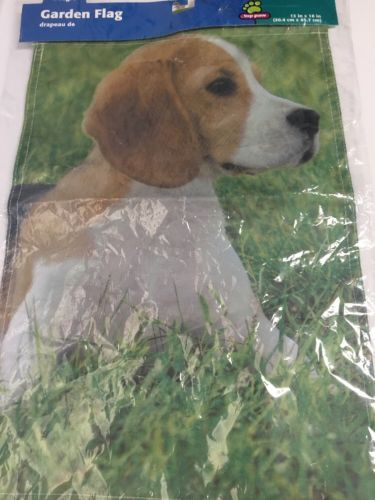 TOP PAW BEAGLE GARDEN FLAG DOG PUPPY 12