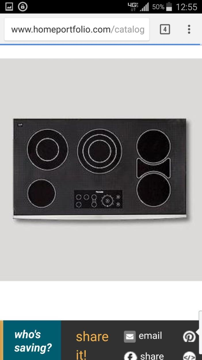 THERMADOR ELECTRIC SMOOTH COOKTOP
