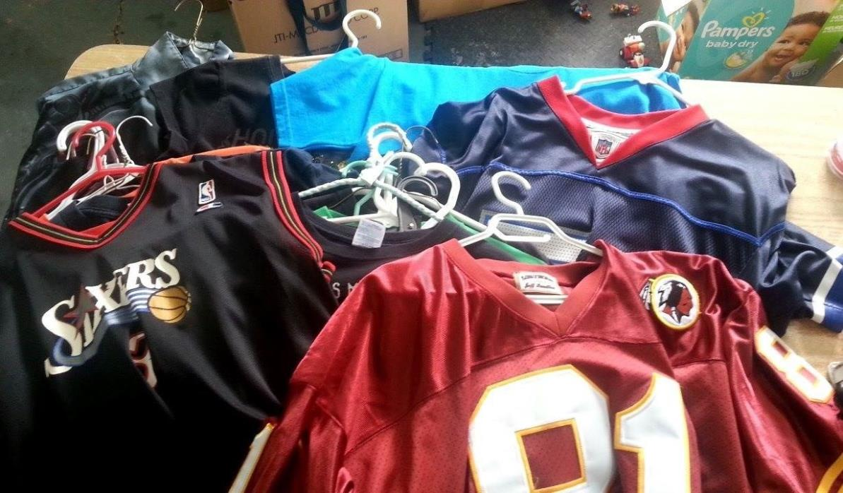 T-Shirt, Jersey, T-Top, Shirts, Men's & Woman's Bundle Lot NBA NFL Music