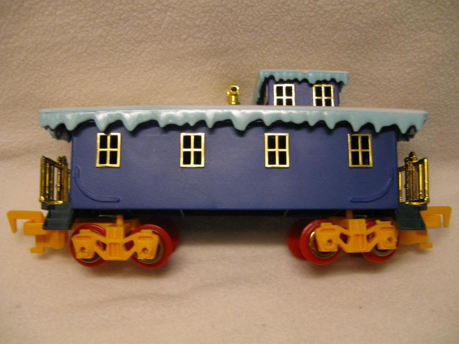 Toy State North Pole Christmas Express Caboose in Good Condition