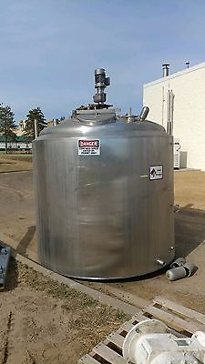 The Creamery Package 1000 gallon processor tank