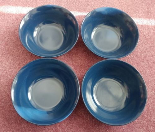 Texas Ware Cereal Bowls Blue