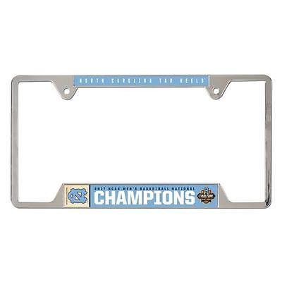 2017 North Carolina Men's Basketball Championship License Plate Frame