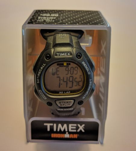 Timex Ironman Watch 30 Lap Indiglo