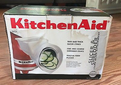 KitchenAid Stand Mixer Slicer/Shredder Attachment Accessories Vegetables Head