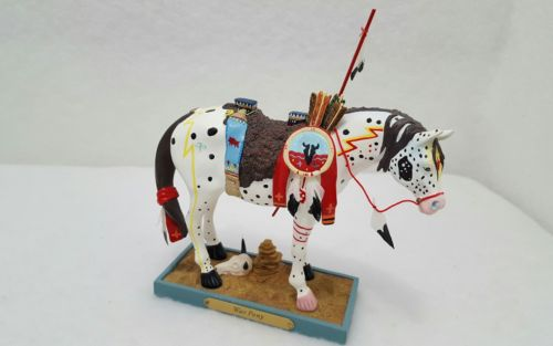 2004 Trail Of Painted Ponies # 1452 WAR PONY By Rance Hood 18E / 1,834 EUC