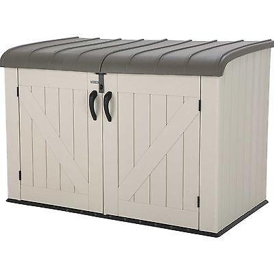 Lifetime Horizontal 75 Gallon Storage Box