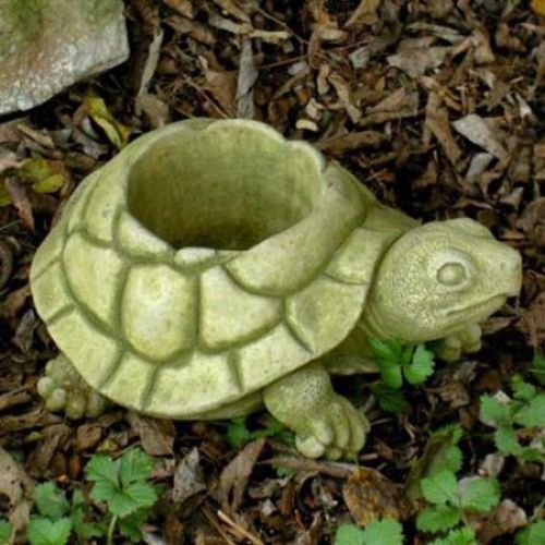 Turtle Planter and Garden Statue